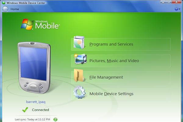 ActiveSync для Windows 7