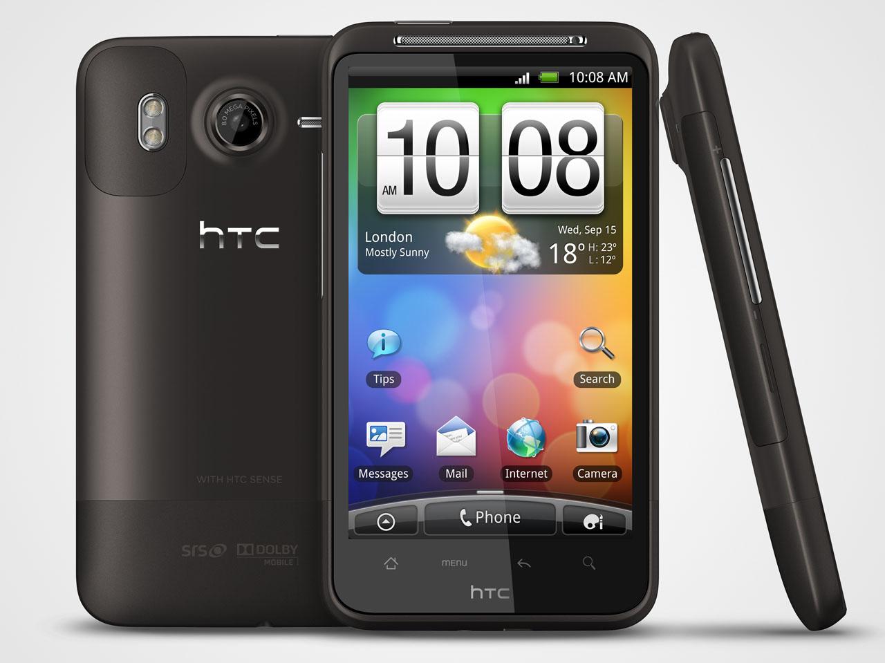 Коммуникатор HTC Desire HD