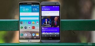 HTC One M8 и LG G3