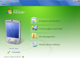 ActiveSync для Windows 7