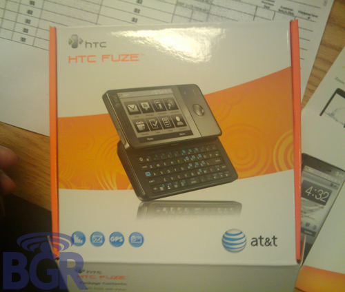 Продажи HTC Fuze
