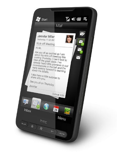 Коммуникатор HTC HD2