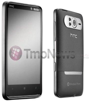 Коммуникатор HTC HD7 на ОС Windows Phone 7