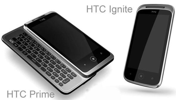 HTC Ignite и HTC Prime