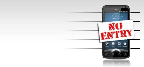 Запрет продукции HTC