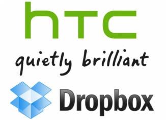 HTC объявили о сотрудничестве с Dropbox
