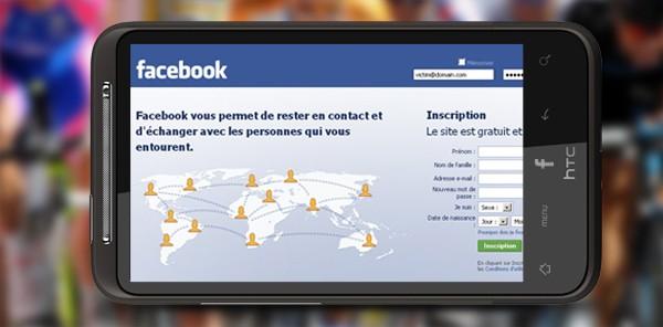 HTC, Facebook