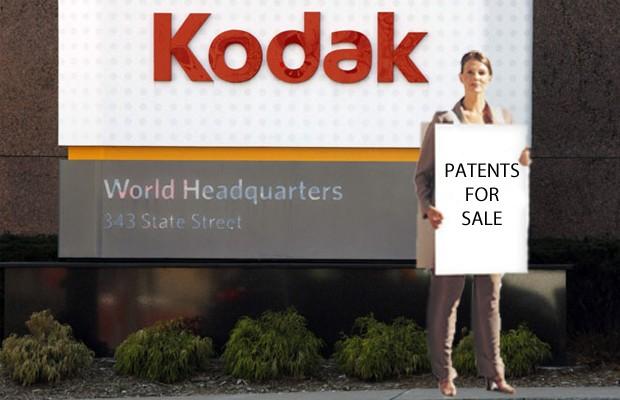 Kodak пытается заработать на патентах