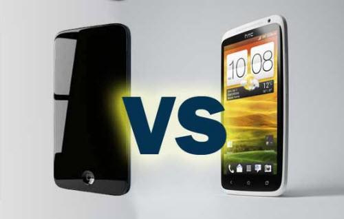 HTC не готовы к конкуренции с iPhone 5