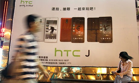 Что случилось с доходами HTC?