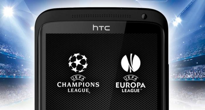 HTC становятся официальным спонсором UEFA