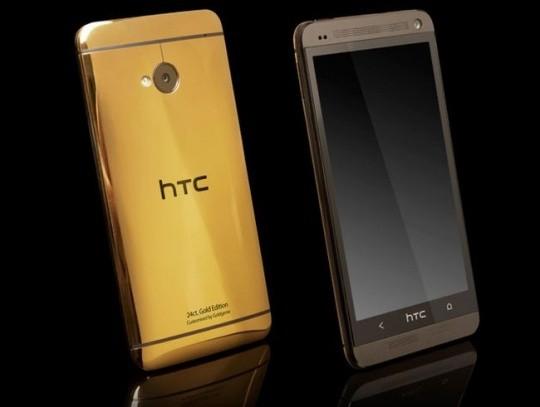 HTC One выходит с корпусом из чистого золота