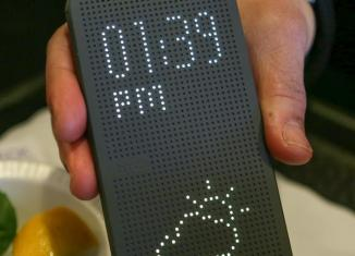 Чехол HTC Dot View