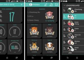 Скриншоты HTC Fun Fit