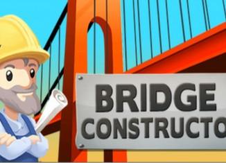 Скриншот игры Bridge Constructorна Андроид