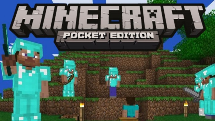 Скриншот игры Minecraft на Андроид