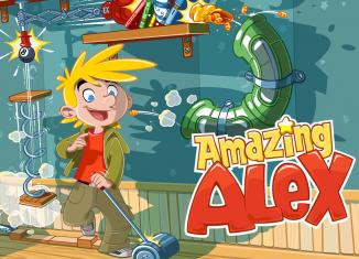 Скриншот игры Amazing Alex на Андроид