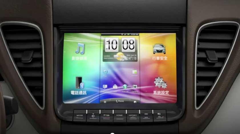 Автомобильная система HTC Cello