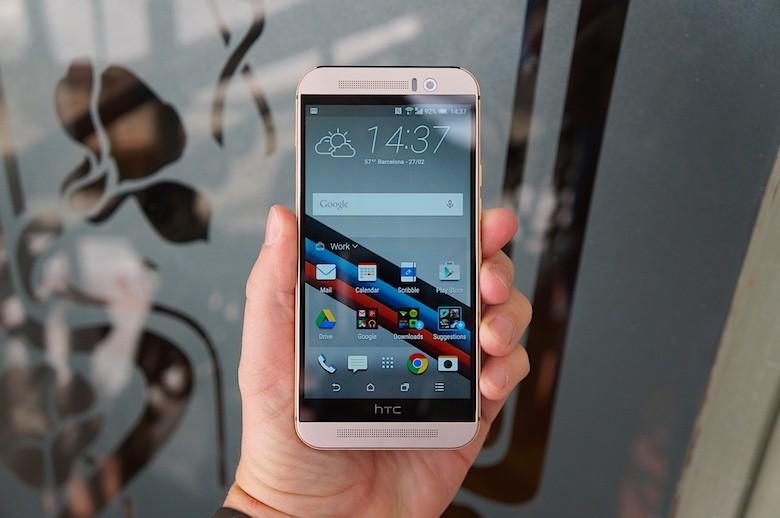 Передняя панель HTC One M9