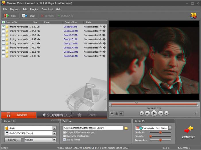 Movavi Video Converter: забудьте о форматах