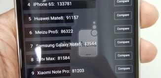 HTC One M10 в результатах AnTuTu