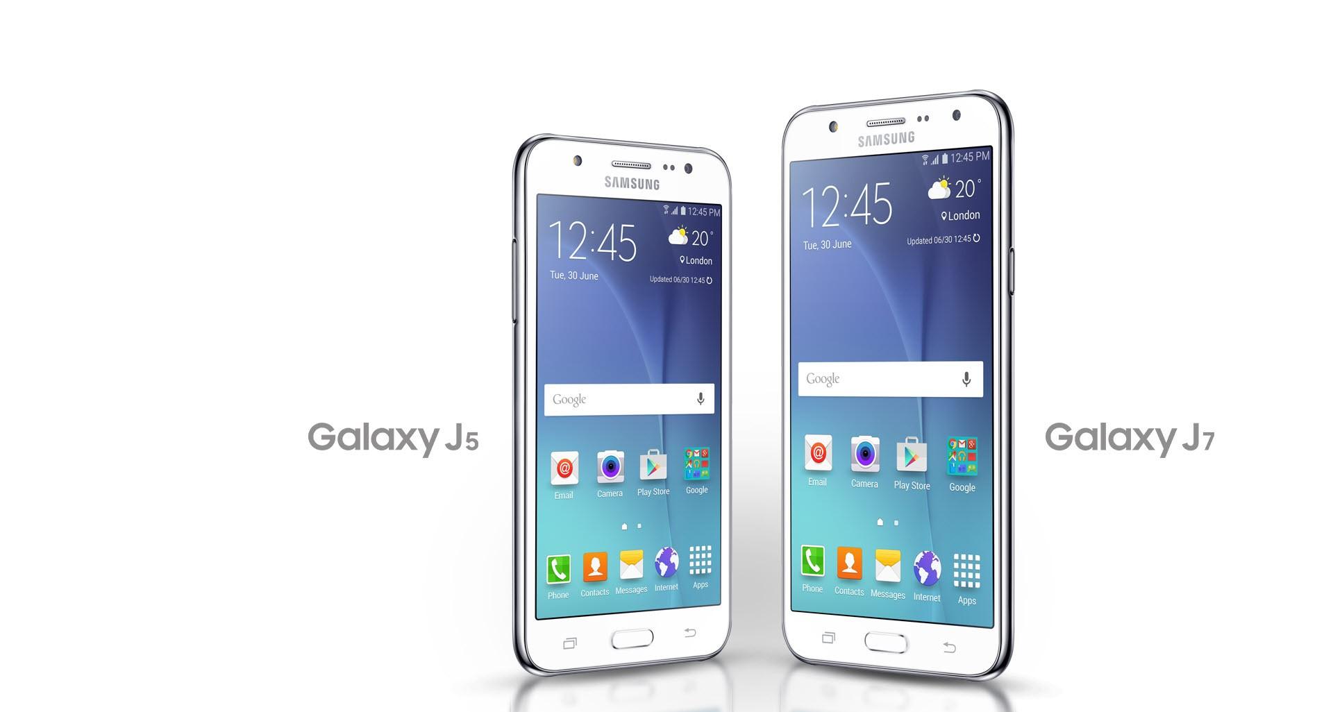 Samsung Galaxy J7 и J5