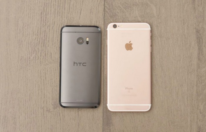 HTC 10 vs iPhone 6s