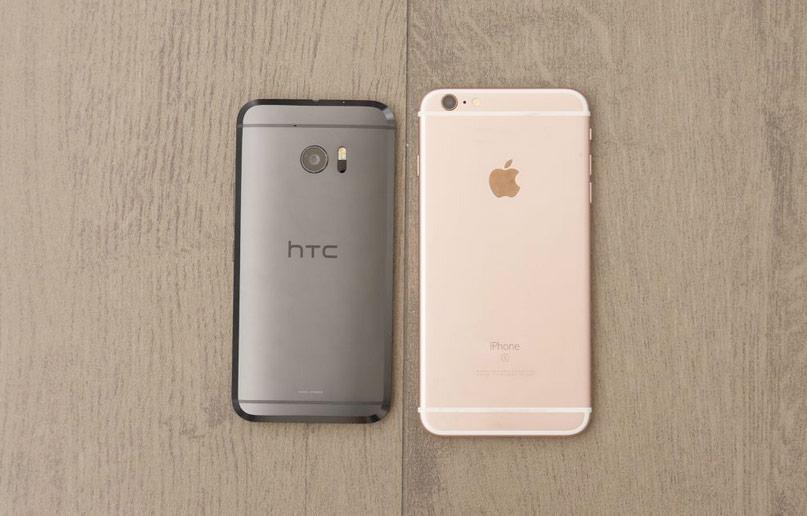 HTC 10 vs iPhone 6s