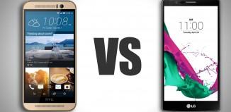 HTC One M9 и LG G4