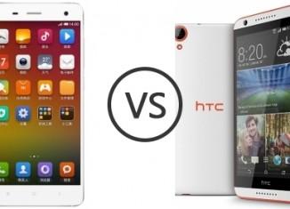 Сравнение HTC Desire 820 и Xiaomi Mi4
