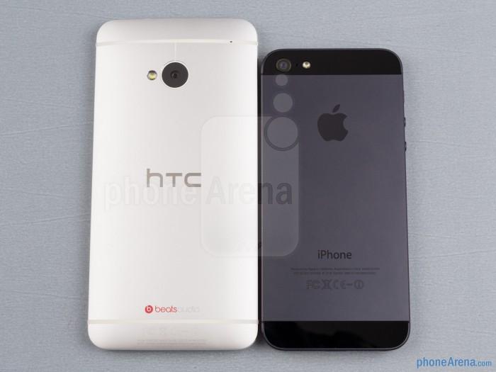 HTC One M7 и iPhone 5S