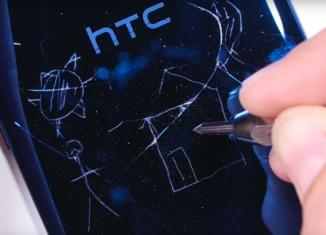 HTC U Ultra- один из самых крепких смартфонов // techz.vn