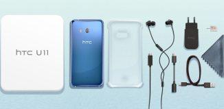 Комплект поставки HTC U11 // htc.com